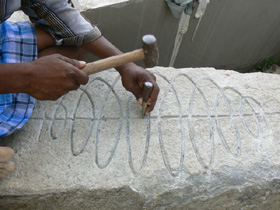 Creating the Stele